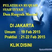 Pelatihan Ruqyah di Jakarta